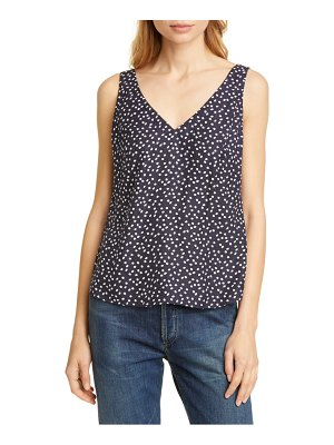 TAILORED BY REBECCA TAYLOR silk blend tank top