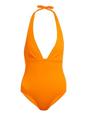 Talia Collins the hold-up halterneck swimsuit