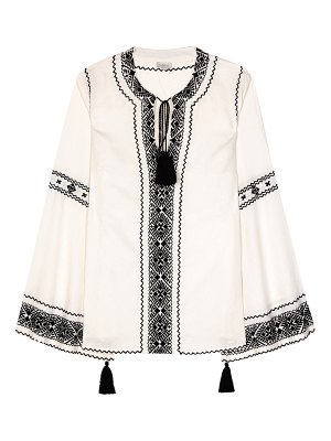 Talitha embroidered blouse