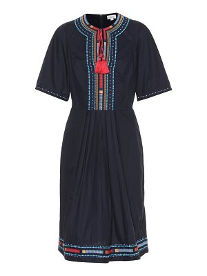 Talitha embroidered cotton dress