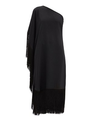 TALLER MARMO piccolo fringed one-shoulder dress