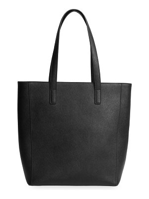 TDE leather tote