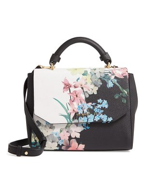Ted Baker alivie pergola faux leather shoulder bag