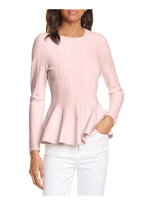 Ted Baker beffi ribbed peplum sweater