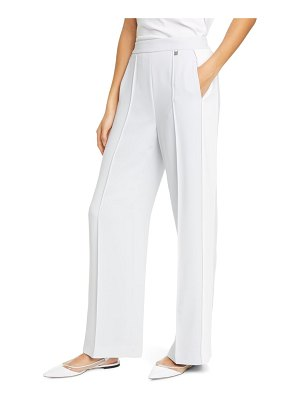 Ted Baker clarpa contrast panel wide leg pants