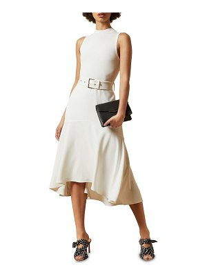 Ted Baker corvala high/low dress