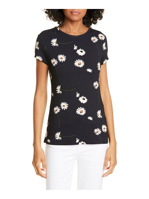 Ted Baker daisy print fitted tee