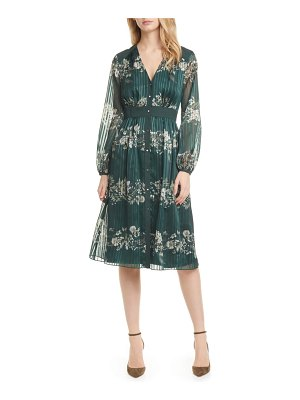 Ted Baker delyla meadow sweep long sleeve dress