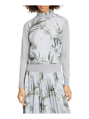 Ted Baker emally woven front sweater