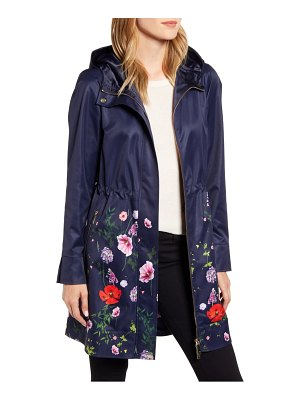Ted Baker floral hooded utility jacket