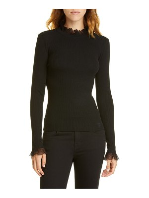 Ted Baker frill trim sweater