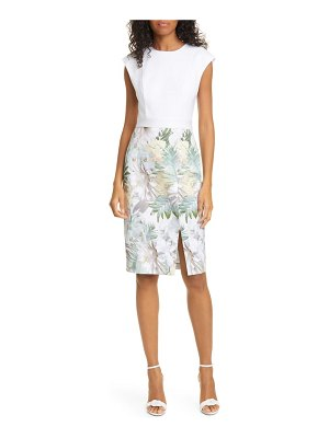 Ted Baker hanalee woodland sheath dress