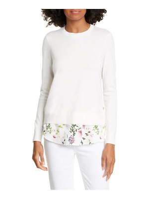 Ted Baker hedgerow mixed media sweater