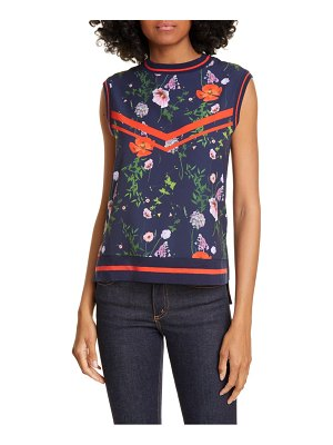 Ted Baker hedgerow ribbed trim top