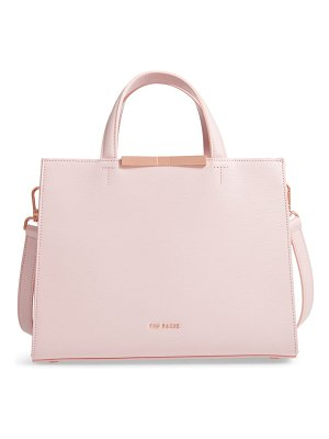Ted Baker jaanet leather satchel