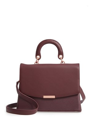 Ted Baker keiira lady bag faux leather top handle satchel
