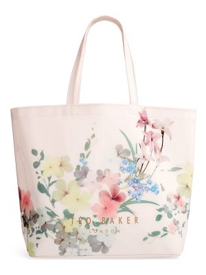 Ted Baker large tonycon pergola icon faux leather shopper