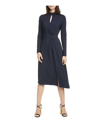 Ted Baker long sleeve asymmetrical dress