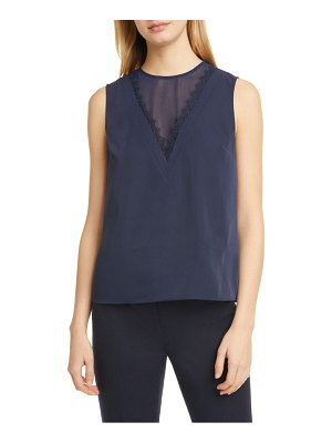 Ted Baker lulabel lace trim top