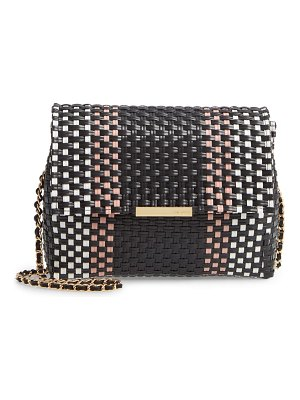 Ted Baker madiee woven stripe clutch