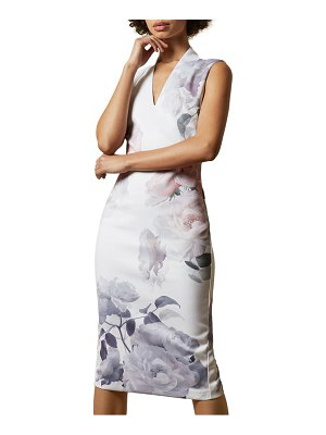 Ted Baker marah bouquet body-con dress