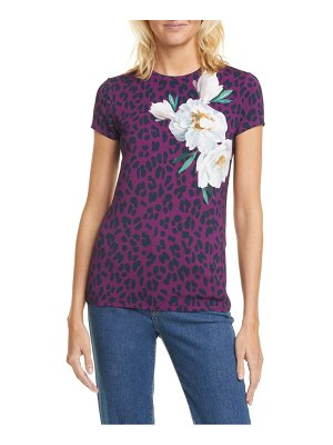 Ted Baker mayai wilderness fitted tee