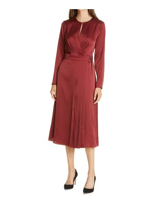 Ted Baker neenha long sleeve wrap dress