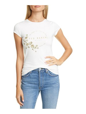 Ted Baker pearl print fitted tee