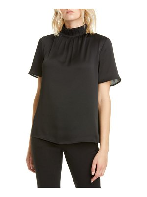 Ted Baker pleated neck jersey back top