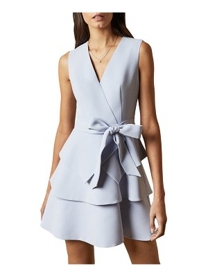 Ted Baker reinah tiered fit & flare dress