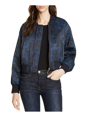 Ted Baker sandey houndini quilted bomber jacket