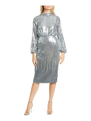 Ted Baker sequin long sleeve dress
