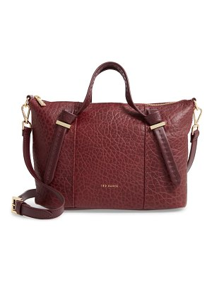 Ted Baker small olmia knotted handle leather tote