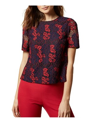 Ted Baker thalia bow back lace top