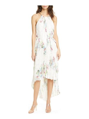 Ted Baker threlin pergola pleated high/low dress