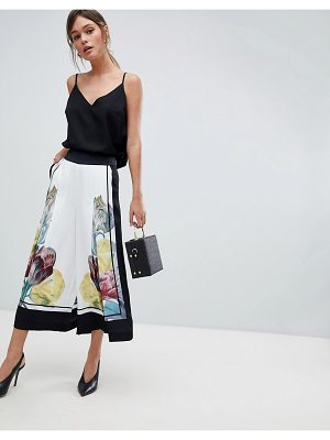 Ted Baker Wide Leg Culottes in Tranquility Floral