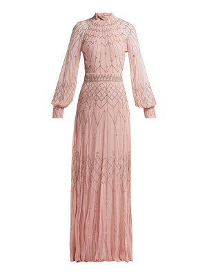 Temperley London Glide Sequinned Georgette Gown