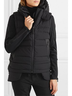 TEMPLA 2l bio convertible hooded quilted shell down jacket