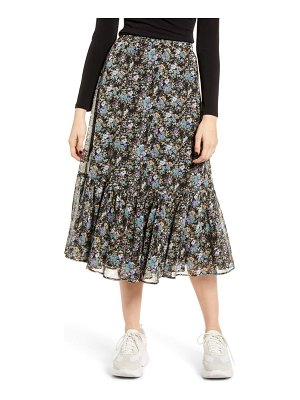 Ten Sixty Sherman ruffle hem midi skirt
