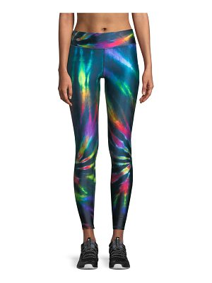 Terez Multicolor Tall-Band Performance Leggings