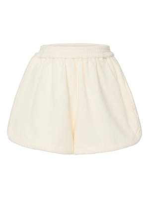 Terry estate cotton- shorts