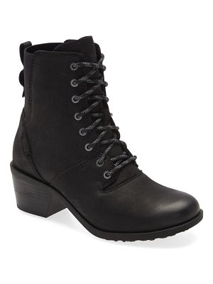 Teva anaya waterproof lace-up bootie