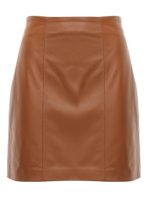 THE AL To let leather mini skirt
