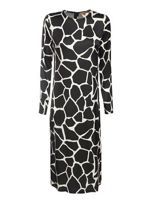 The Andamane Beulah printed jersey midi dress