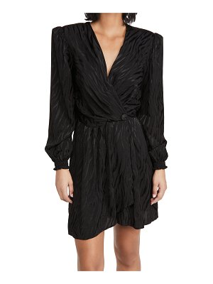 The Andamane flaminia wrap mini dress