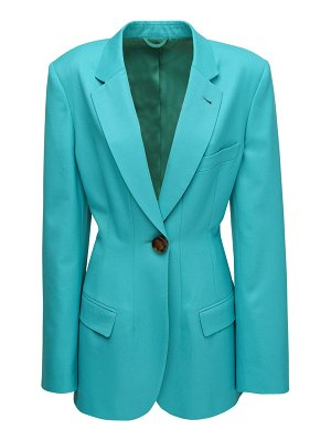 The Attico Fitted cool wool blazer
