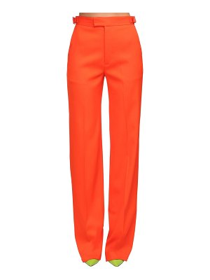 The Attico High waist wool gabardine pants