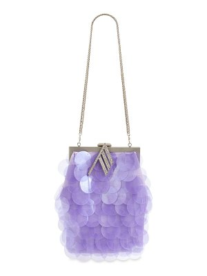 The Attico Jackie maxi sequined bag