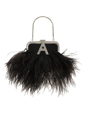 The Attico Mini doctor's bag w/ feathers