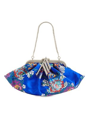 The Attico Mini flower jacquard doctor bag